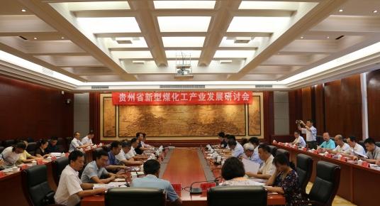 贵州省第一部新型煤化工产业发展研